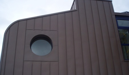 Joint debout en façade